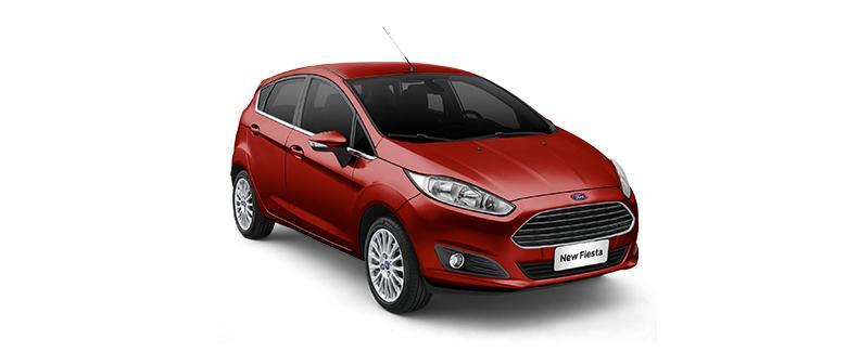 New Fiesta Hatch 2014 Titanium 1.6