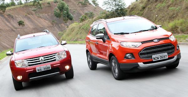 Qual é melhor para comprar Duster ou Ecosport? Veja o comparativo