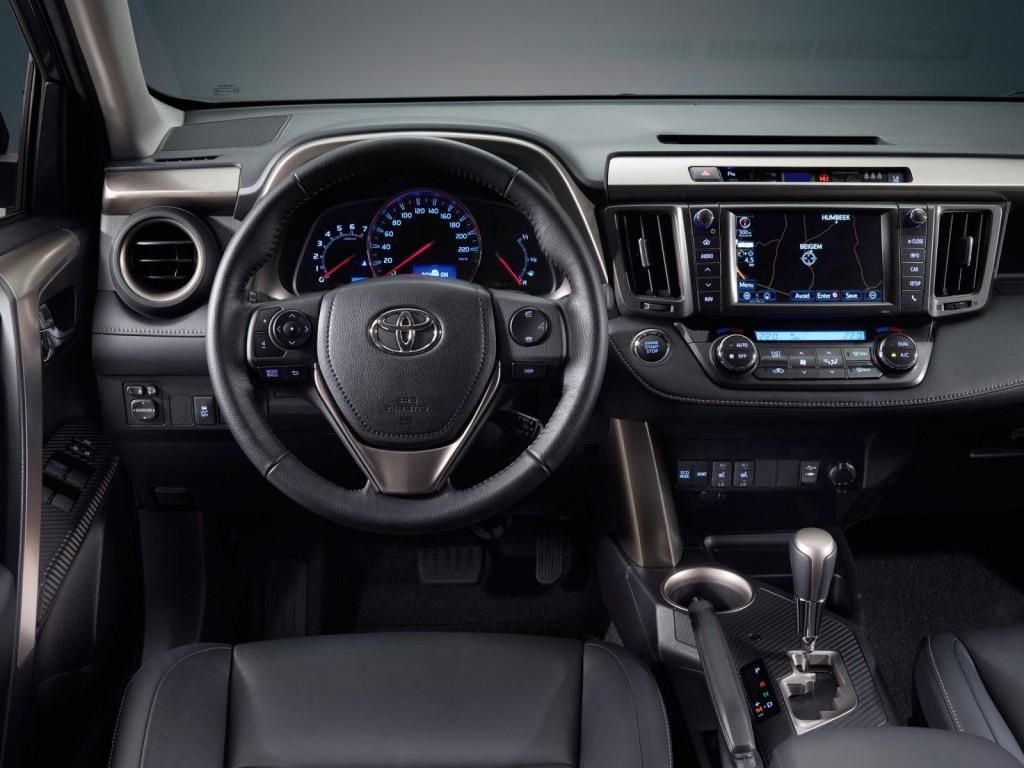 Novo RAV4 2014 Interior e Consumo