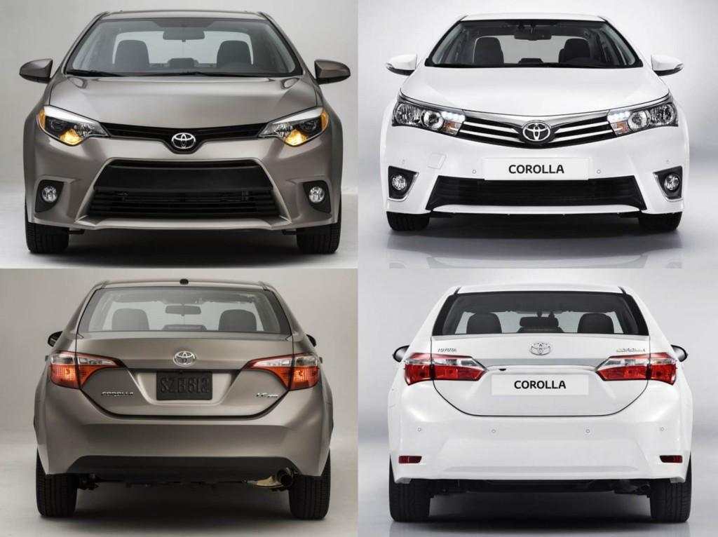Novo Corolla 2014 Design