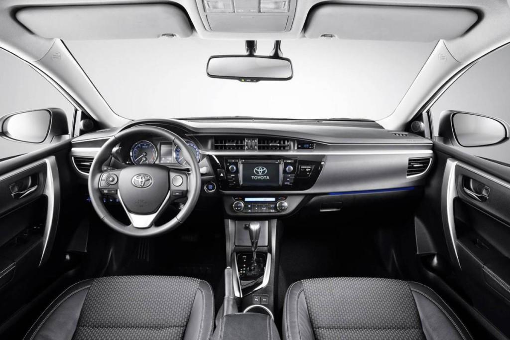 Novo Corolla 2014 Interior