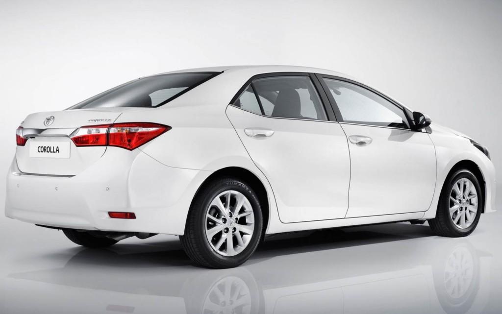 Corolla 2014 Traseira