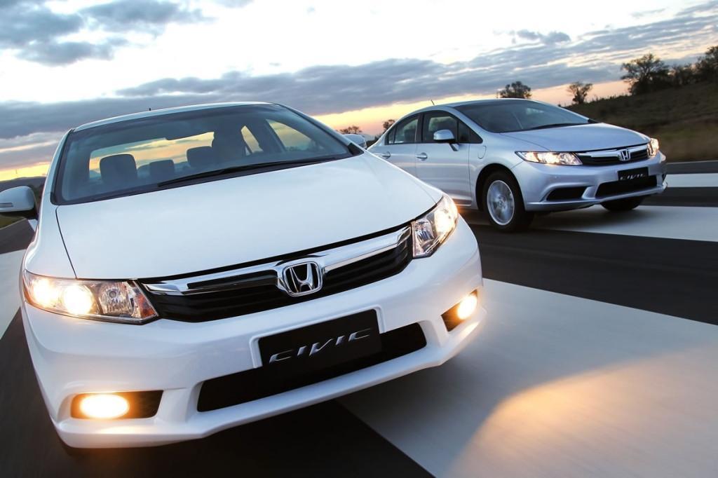 Qual é melhor para comprar Honda Civic ou Fusion