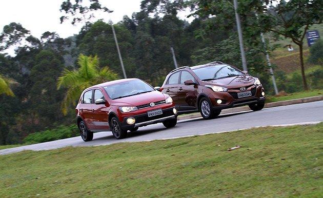 Qual é melhor para comprar HB20 X ou VW Gol Rallye