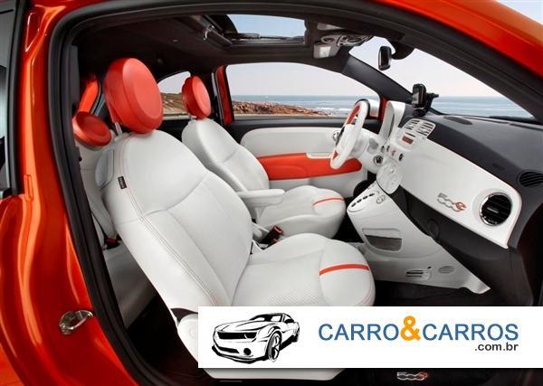 Novo Fiat 500 2014 Interior
