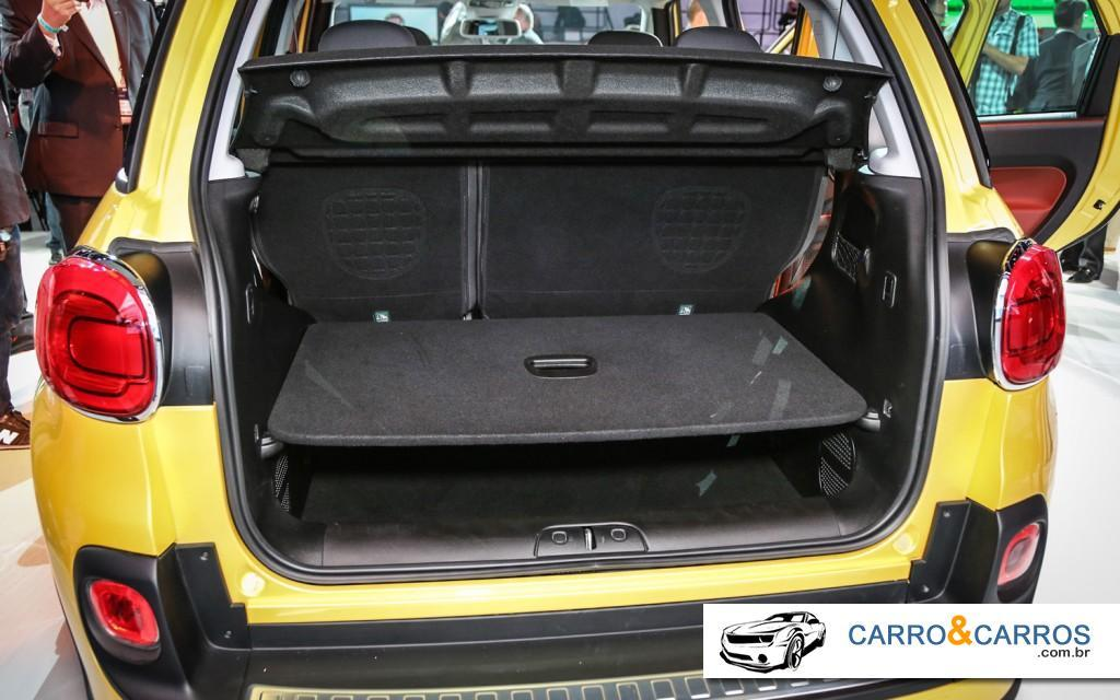 Novo Fiat 500 2014 Porta mala