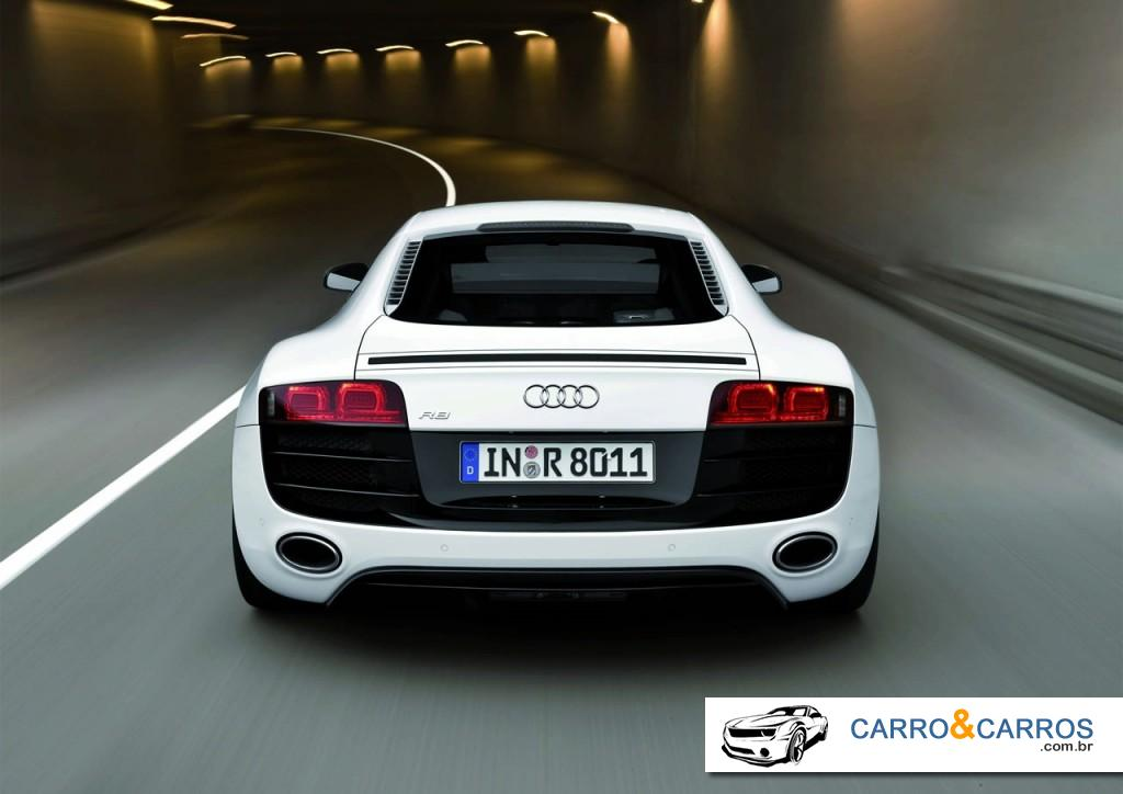 Novo Audi R8 v10 2014 Velocidade