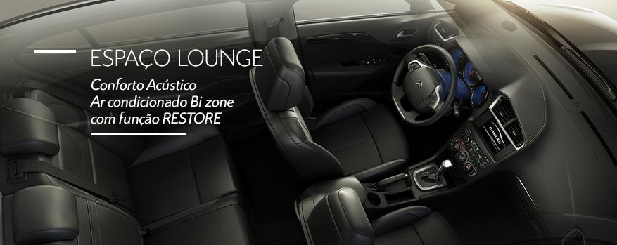 Novo Citroen C4 Lounge 2014 Interior e desempenho
