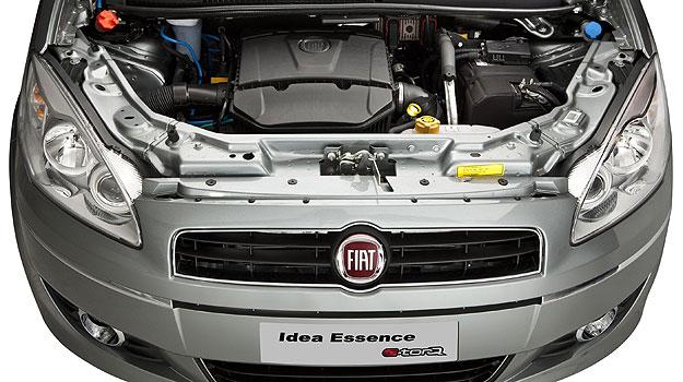 Novo Fiat Idea 2014 Motor