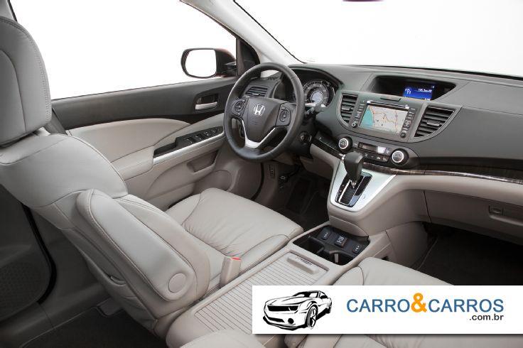 Novo Honda CR-V 2014 Interior Completo