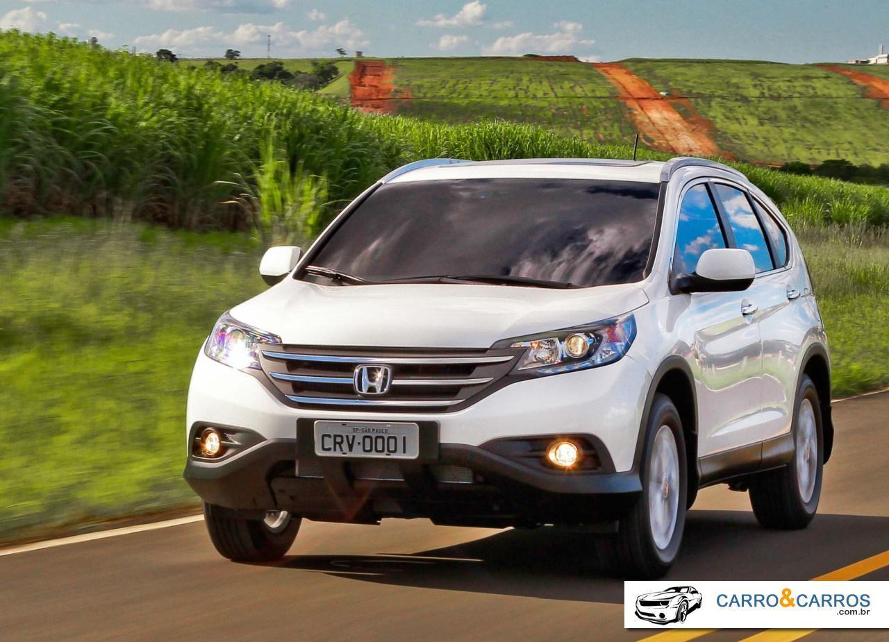 Novo Honda CR-V 2014 Ficha técnica e desempenho