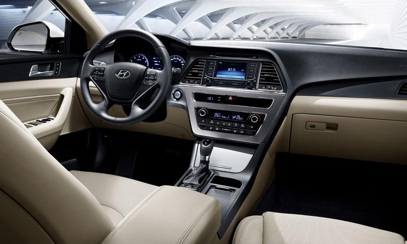 Hyundai Novo Sonata 2018 - Interior