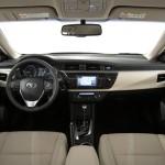 Novo Corolla 2015 Interior