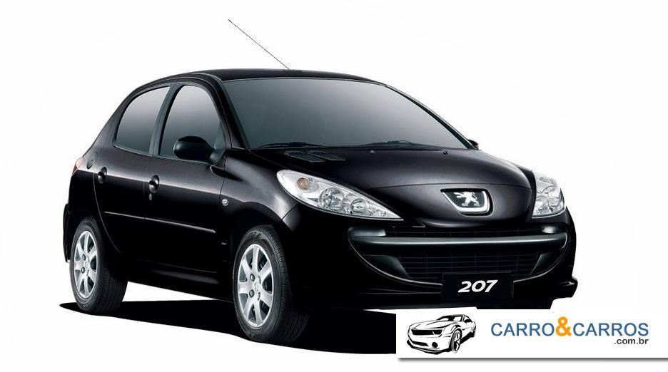 Novo Peugeot 207 2014 Ficha Técnica