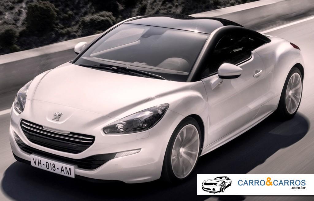 Novo Peugeot RCZ 2014 Ficha Técnica