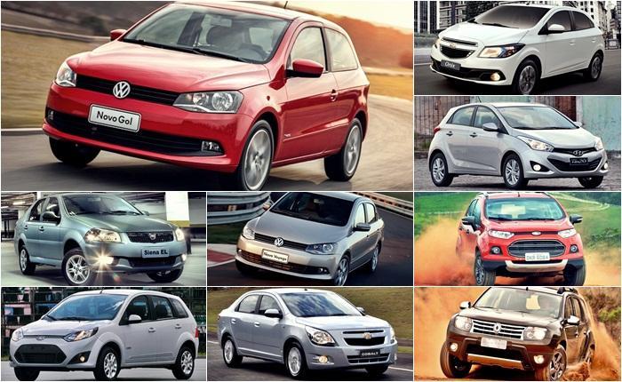 Saiba os Carros mais Vendidos de 2014 até agora!