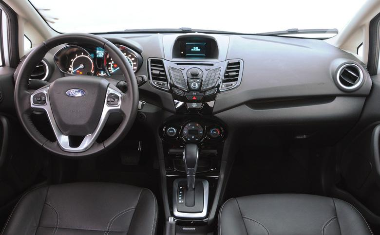 Novo Ford Ka 2015 Interior