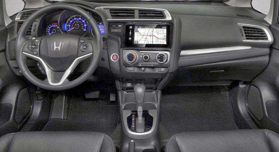 Novo Honda Fit 2015 Interior