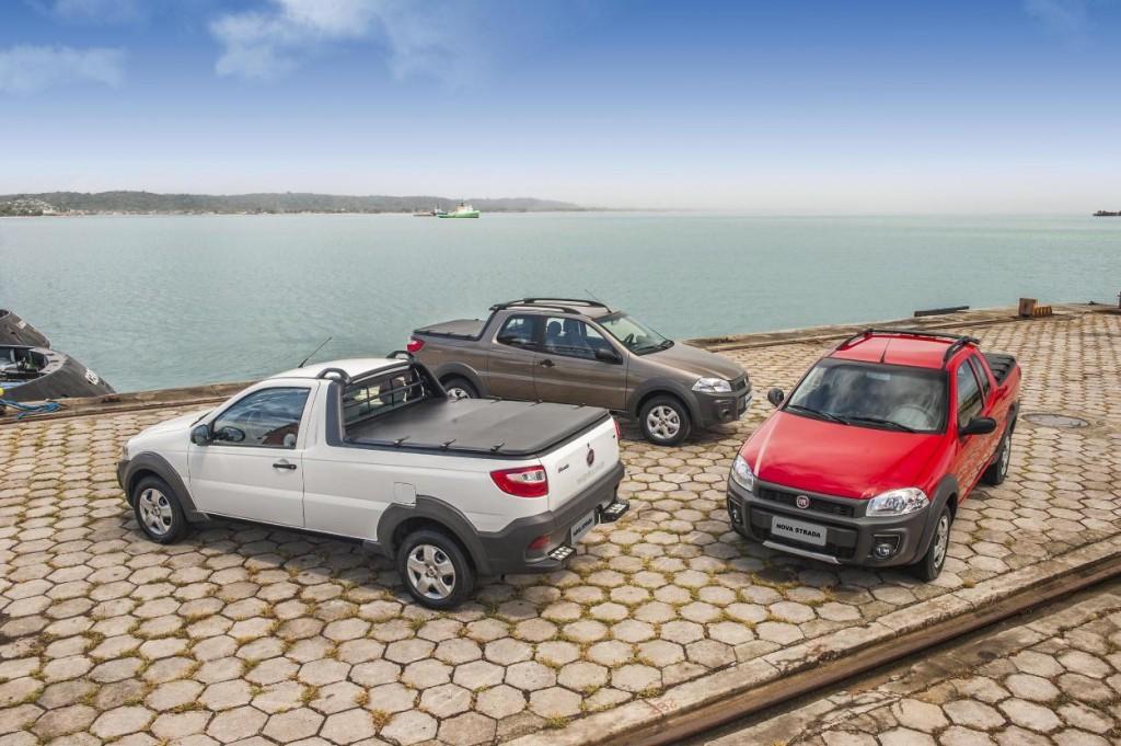 Novo Fiat Strada 2015 Consumo e velocidade máxima