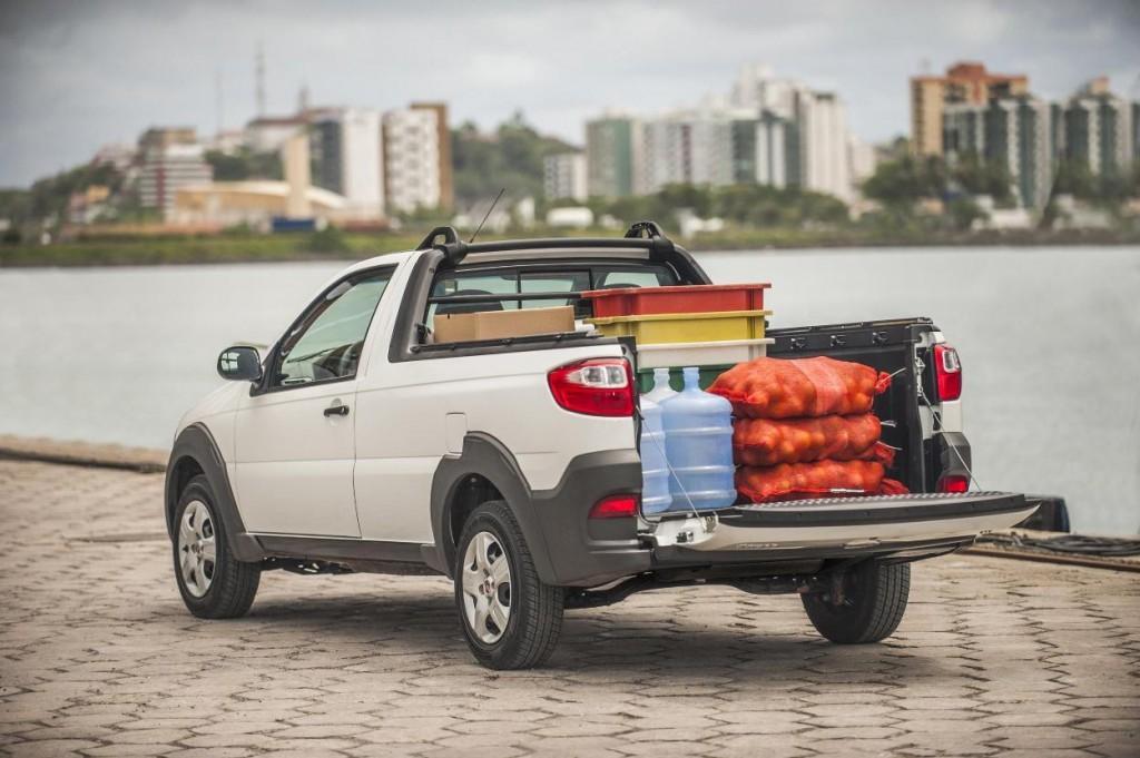 Novo Fiat Strada 2015 dimensões, 0 a 100 Km/h