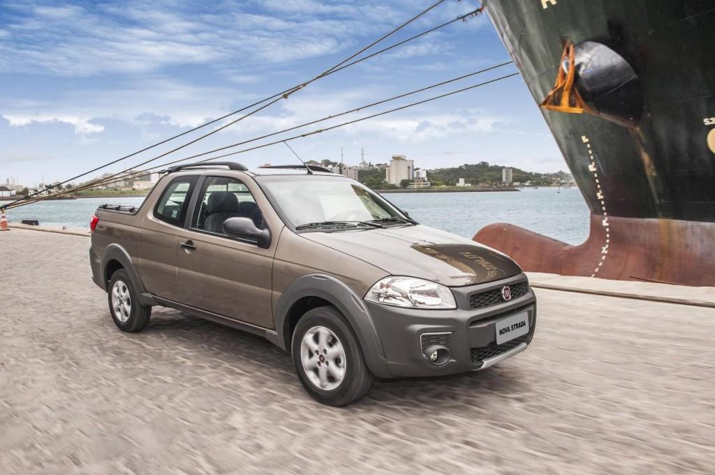 Novo Fiat Strada 2015 Preço