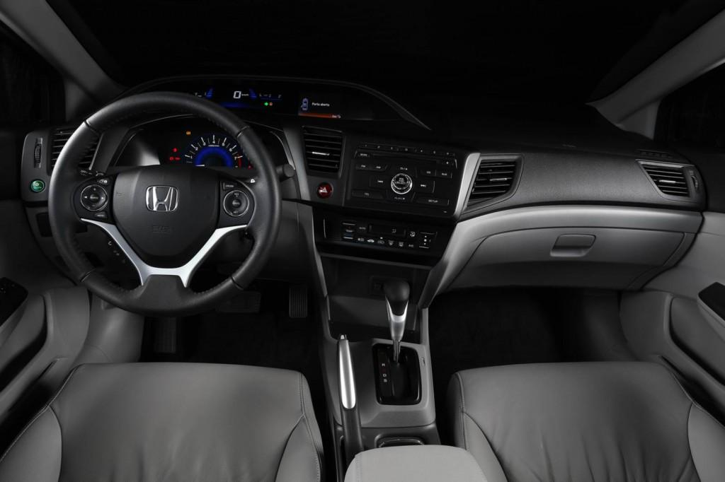Novo Honda Civic 2015 Interior