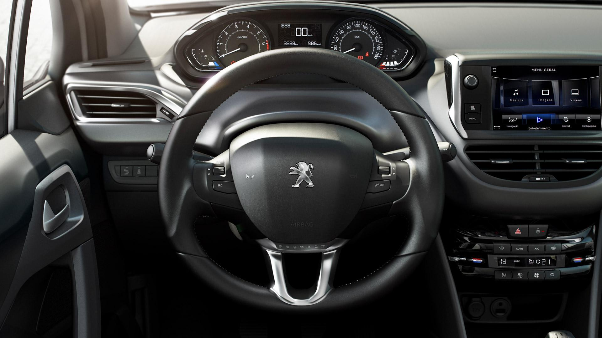 Novo peugeot 208 2015 pre o consumo ficha t cnica for Peugeot 208 interior 2017