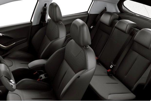 Novo Peugeot 208 2015 Interior