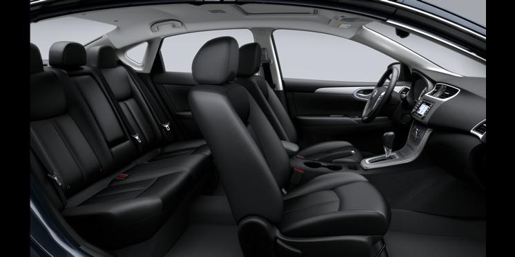 Novo Nissan Sentra 2015 Interior