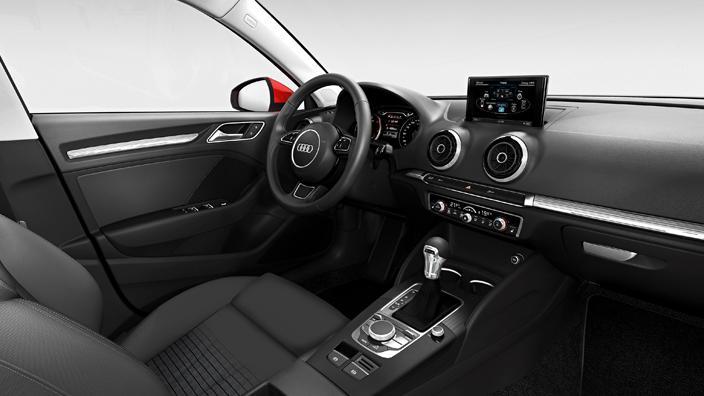 Novo Audi A3 2015 Sedan interior