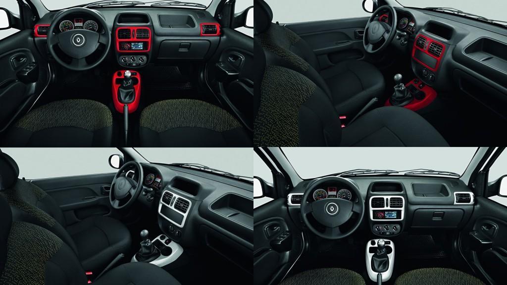 Novo Renault Clio 2015 Interior
