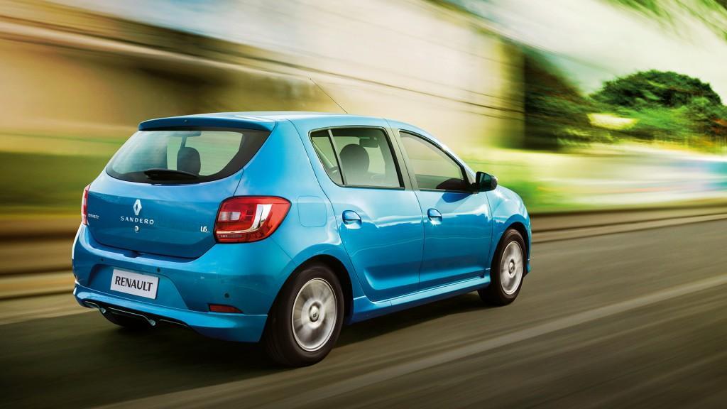 Novo Renault Sandero 2015 Consumo