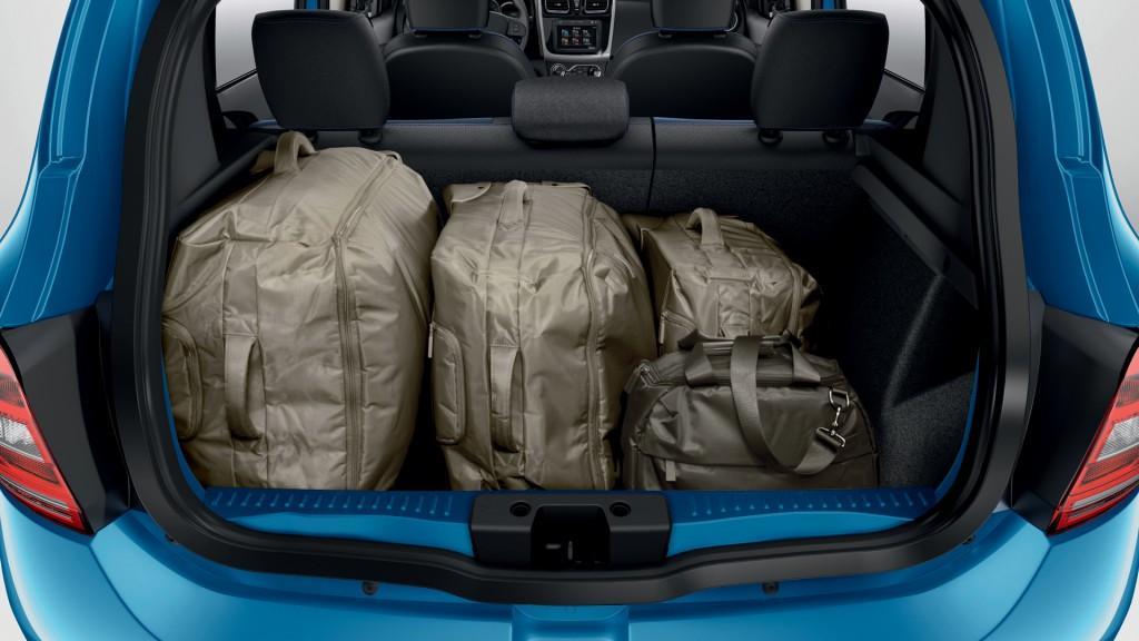 Novo Renault Sandero 2015 Porta Malas