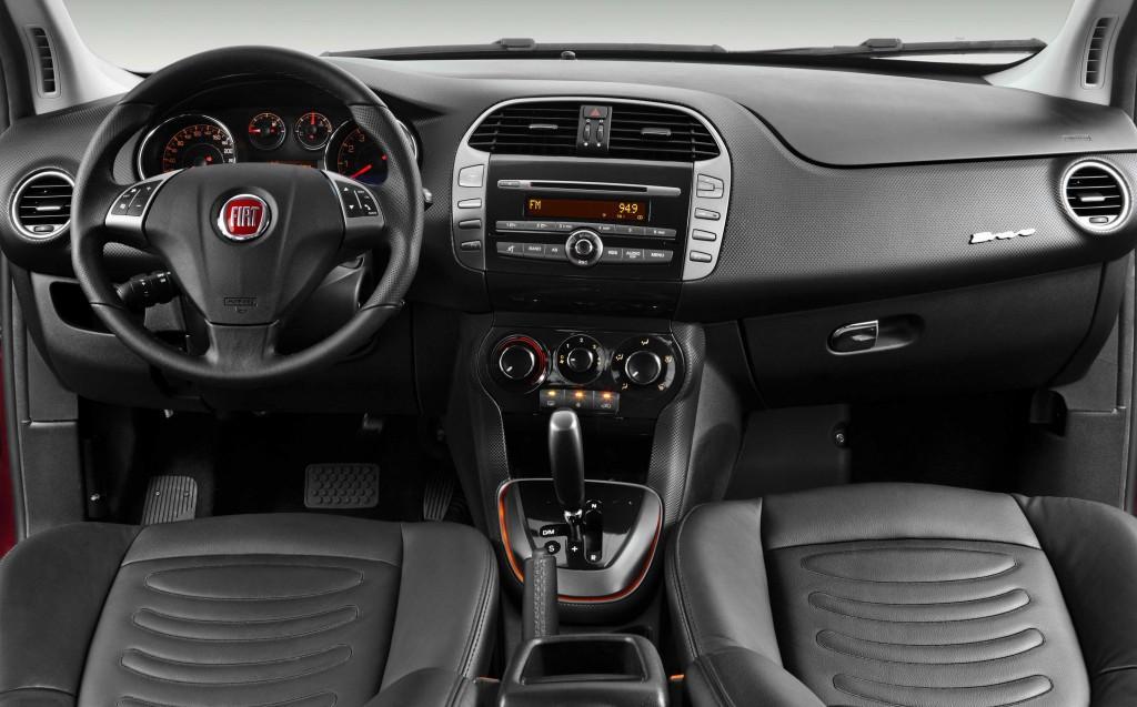 Novo Fiat Bravo 2015 Interior