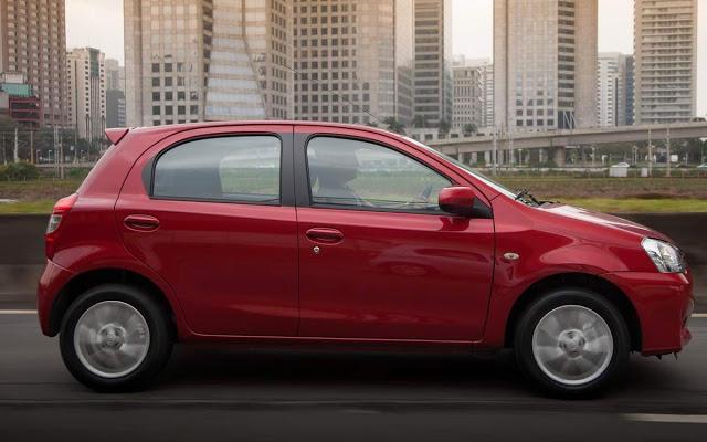 Novo Toyota Etios 2015 Consumo