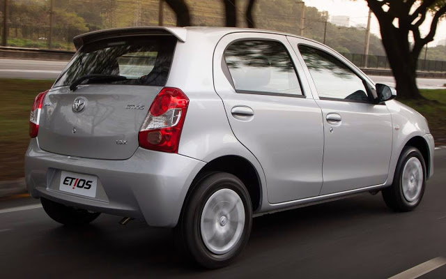 Novo Toyota Etios 2015 Ficha Técnica