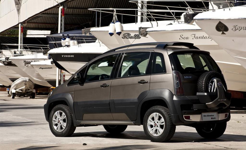 Novo Fiat Idea 2015 Consumo e porta malas