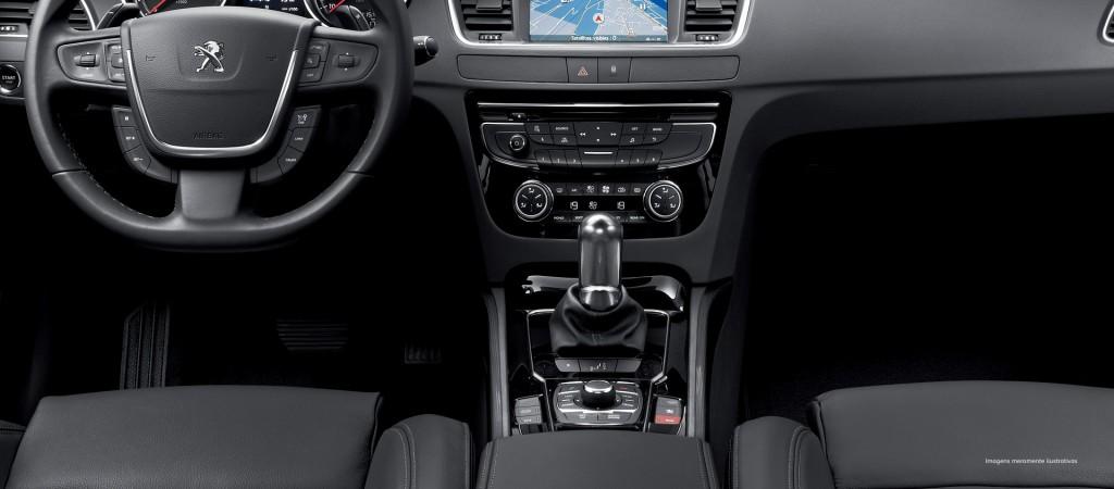 Novo Peugeot 508 2015 Interior