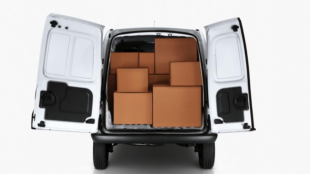 Novo Renault kangoo 2015 - Espaço interno e Caçamba