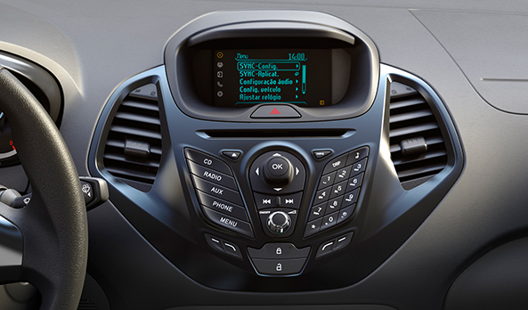 Ford Ka + Sedan ou Toyota Etios Sedan - Interior
