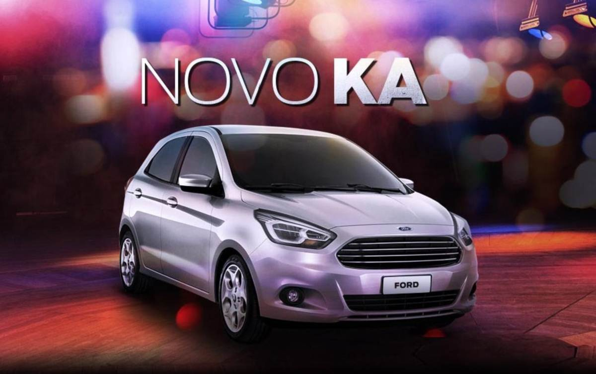 novo ford ka 2016 pre o consumo opini es fotos. Black Bedroom Furniture Sets. Home Design Ideas