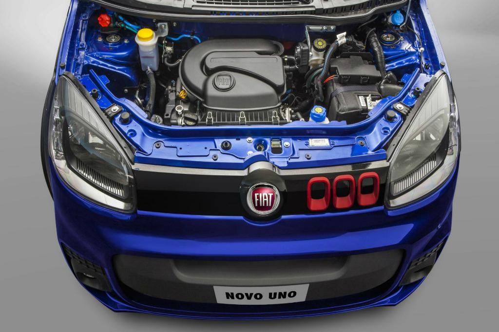 Novo Uno 2016 - Consumo e Motor