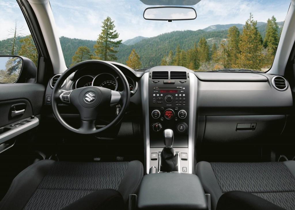 Novo Suzuki Grand Vitara 2015 2016 - Interior e itens de série