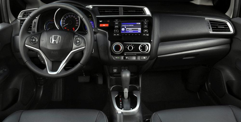 Novo Honda Fit 2016 - Interior e Itens de série