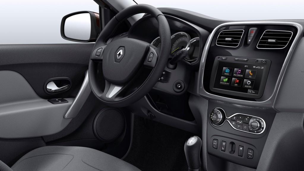 Novo Renault Logan 2016 - Interior e itens de série