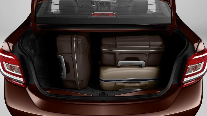 Novo Renault Logan 2016 - Porta malas