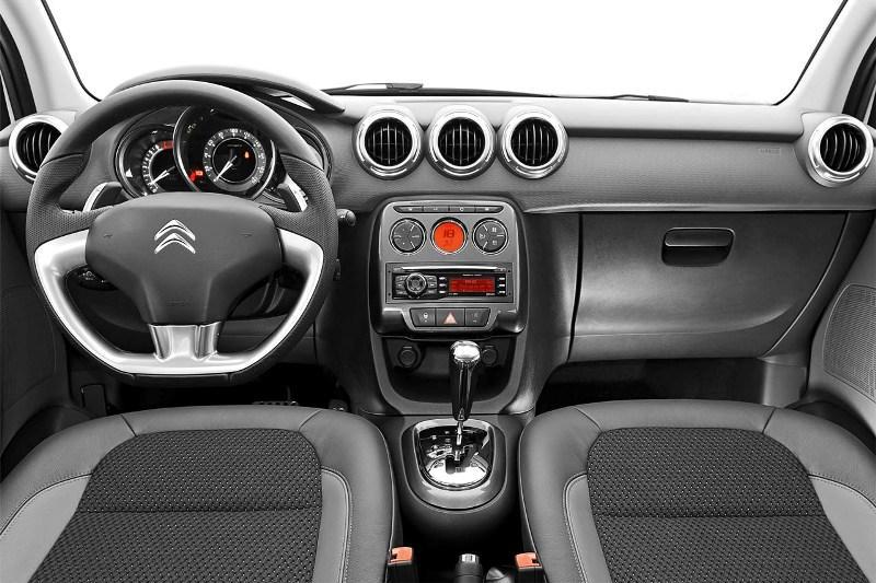 Novo Citroen C3 2016 - Interior e itens de série