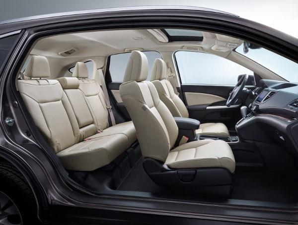 Novo Honda CRV 2016 / 2017 - Interior e Itens de série
