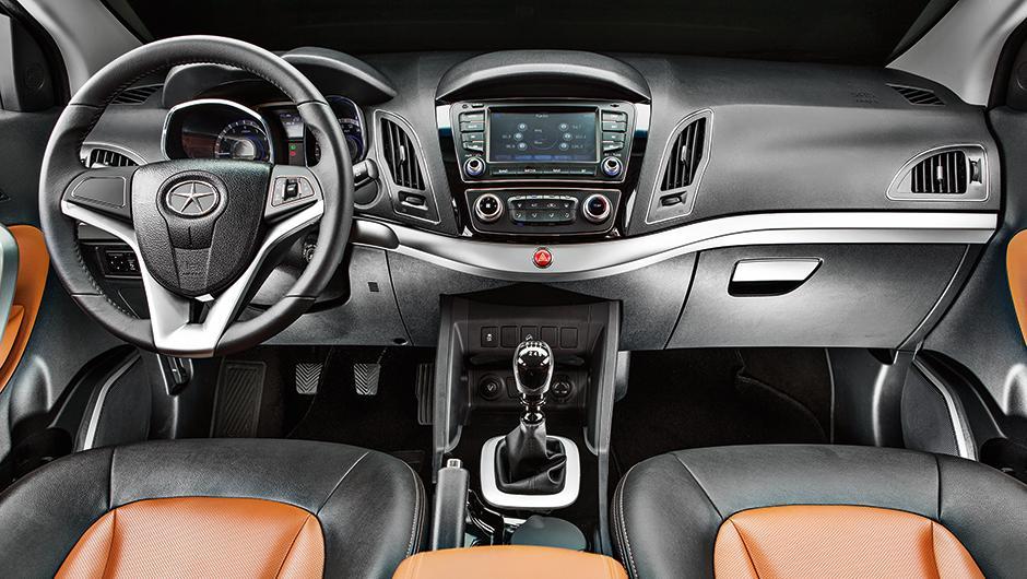 Novo Jac T6 2015 2016 - Interior e itens de série