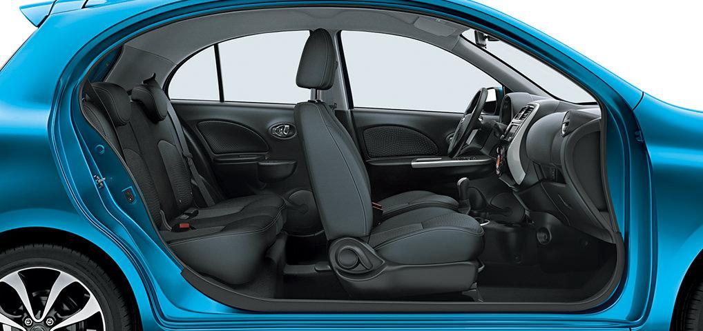 Novo Nissan March 2016 - Dimensões e especificações